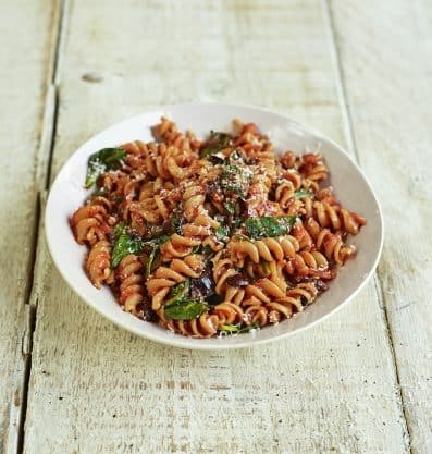 Menu settimanale di Jamie Oliver